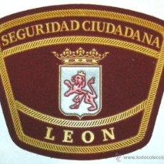 Militaria: PARCHE POLICIA LOCAL DE LEON SEGURIDAD CIUDADANA. Lote 252101650