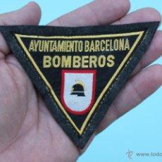 Militaria: PARCHE BOMBEROS AYUNTAMIENTO BARCELONA - BOMBERO. Lote 54144515