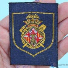 Militaria: PARCHE BOMBEROS DE BARCELONA - BOMBERO. Lote 54201721