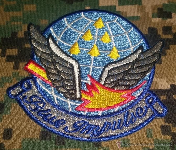 PARCHES DEL EJERCITO DEL AIRE PATRULLA ACROBATICA (Militar - Parches de tela )