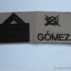 Militaria: PARCHE GALLETA ARIDO.-. Lote 54658283