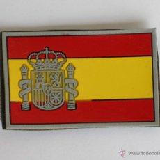 Militaria: PARCHE BANDERA ESPAÑOLA 7,5 CMT DE LARGO POR 5 CMT DE ANCHO.- CON VELCRO POR DETRAS.-. Lote 154623764