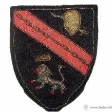 Militaria: ANTIGUO PARCHE DE TELA BORDADO CON HILO DE ORO Y PLATA.. Lote 50715566