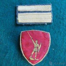 Militaria: PARCHES ITALIANOS GUERRA CIVIL ESPAÑOLA. Lote 55044672