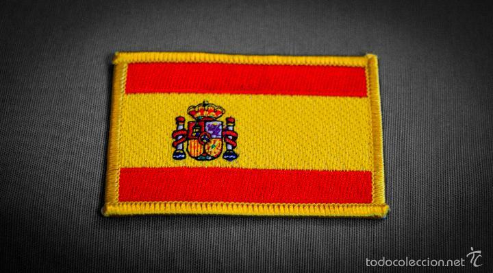 Escudo de tela bordado bandera espa a de calida comprar parches de tela militares en - Comprar tela online espana ...