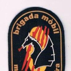 Militaria: PARCHE EMBLEMA ESCUDO POLICIA MOSSOS D´ESQUADRA BRIGADA MÓBIL CATALUÑA. Lote 55835441