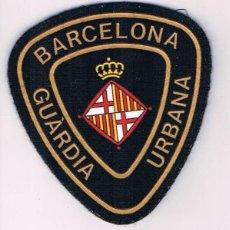 Militaria: PARCHE EMBLEMA ESCUDO GUARDIA URBANA BARCELONA CATALUÑA. Lote 55837087