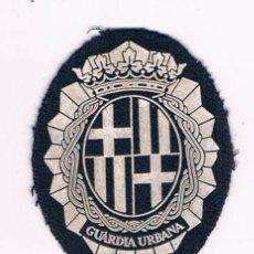 Militaria: PARCHE EMBLEMA ESCUDO GUARDIA URBANA CATALUÑA. Lote 55839141