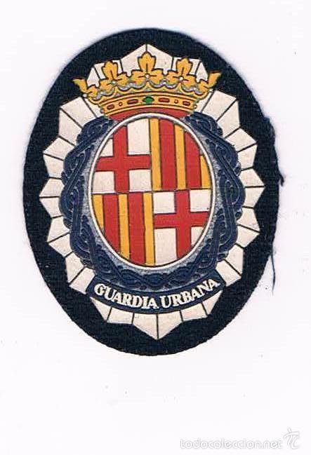 PARCHE EMBLEMA ESCUDO GUARDIA URBANA CATALUÑA (Militar - Parches de tela )
