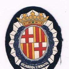 Militaria: PARCHE EMBLEMA ESCUDO GUARDIA URBANA CATALUÑA. Lote 55855638