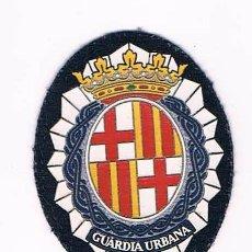 Militaria: PARCHE EMBLEMA ESCUDO GUARDIA URBANA CATALUÑA. Lote 55855657