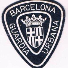 Militaria: PARCHE EMBLEMA ESCUDO GUARDIA URBANA BARCELONA CATALUÑA. Lote 55856184