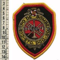 Militaria: CUERPO DE BOMBEROS DE SANTO DOMINGO - REPÚBLICA DOMINICANA - PARCHE. Lote 56178979