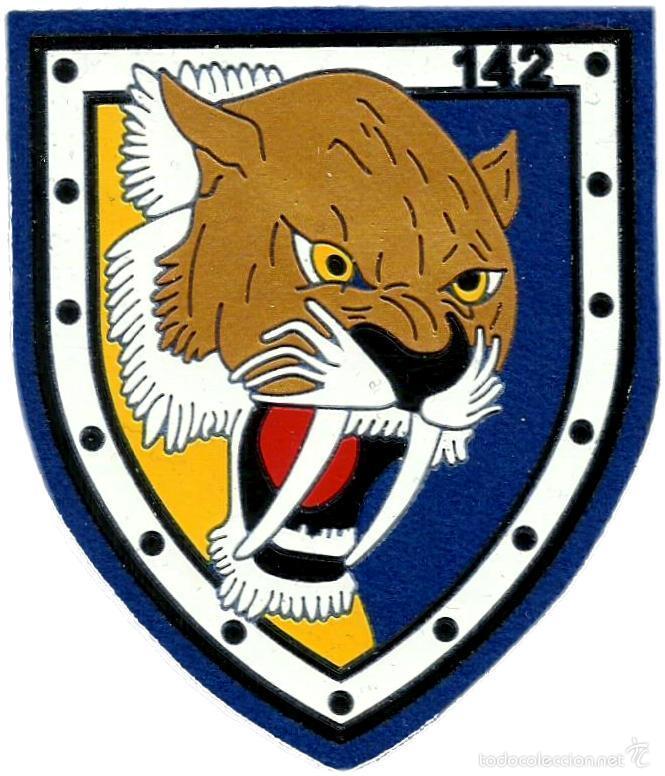 EJERCITO DEL AIRE ESCUADRON 142 SQUADRON SPAIN AIR FORCE - EB01142 (Militar - Parches de tela )