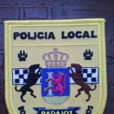 Militaria: PARCHE POLICÍA LOCAL BADAJOZ. GUÍAS CANINOS.. Lote 56465211