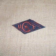 Militaria: PARCHE U.G.T. UGT ORIGINAL. Lote 191272137