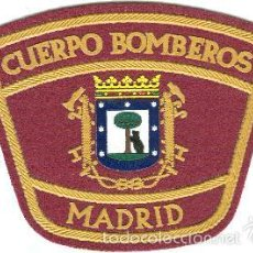 Militaria: BOMBEROS DE MADRID - FIRE DEPT OF MADRID CITY - EB00364. Lote 81317404