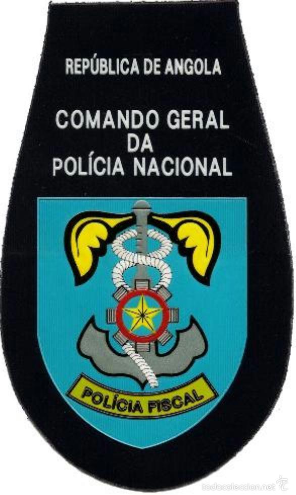 POLICIA NACIONAL DE ANGOLA FISCAL NATIONAL POLICE OF ANGOLA TAX BRIGADE - EB00759 (Militar - Parches de tela )