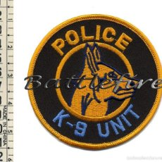 Militaria: PARCHE USA - K-9 - POLICÍA - UNIDAD CANINA - PERROS POLICIAS. Lote 61689890