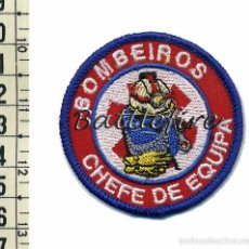 Militaria: BOMBEIROS - CHEFE DE EQUIPA - PORTUGAL - PEQUEÑO PARCHE BOMBEROS - RESCATE Y SALVAMENTO. Lote 56860985