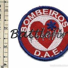 Militaria: BOMBEIROS D.A.E. - PORTUGAL - PEQUEÑO PARCHE BOMBEROS - SANITARIOS. Lote 56861027