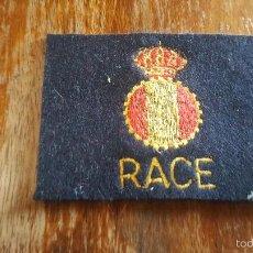 Militaria: PARCHE RACE. Lote 57306153
