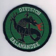 Militaria: PARCHE MILITAR ORIGINAL DIVISION SALAMANDRE. Lote 57365379