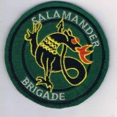 Militaria: PARCHE MILITAR ORIGINAL BRIGADE SALAMANDER. Lote 57365412