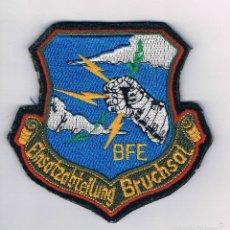 Militaria: PARCHE MILITAR ORIGINAL EINSATZABTELLUNG BRUCHSAL BFE. Lote 57365562