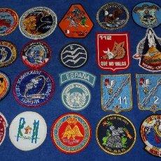 Militaria: LOTE DE PARCHES - NASA - EJERCITO DEL AIRE - ALA - ETC. Lote 57419042