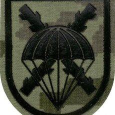 Militaria: PARCHE BRIPAC PARACAIDISTAS PIXELADO BOSCOSO. Lote 137778966