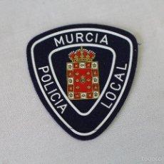 Militaria: PARCHE EMBLEMA ESCUDO POLICIA LOCAL - MURCIA. Lote 58618633