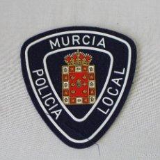 Militaria: PARCHE EMBLEMA ESCUDO POLICIA LOCAL - MURCIA. Lote 58618641