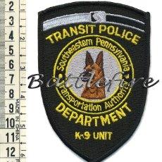 Militaria: PARCHE UNIDAD CANINA K9 - POLICIA DE TRAFICO - SOUTHEASTEM PENNSYLVANIA - USA - PERROS - POLICIAS. Lote 58756721