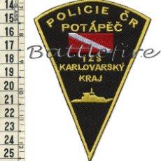 Militaria: PARCHE GRUPO IMMERSION - BUZOS POLICIA REPUBLICA CHECA - SUBMARINISTAS - POLICIAS - SALVAMENTO. Lote 58757876