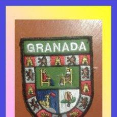 Militaria: PARCHE ESCUDO BORDADO. GRANADA. Lote 146577633