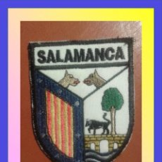 Militaria: PARCHE ESCUDO BORDADO. SALAMANCA. Lote 58954485