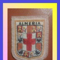 Militaria: PARCHE ESCUDO BORDADO. ALMERIA. Lote 146577668