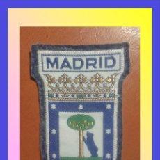Militaria: PARCHE ESCUDO BORDADO. MADRID. Lote 58954770