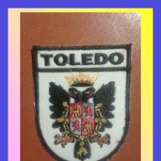 Militaria: PARCHE ESCUDO BORDADO. TOLEDO. Lote 58954815