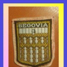 Militaria: PARCHE ESCUDO BORDADO. SEGOVIA. Lote 58954915