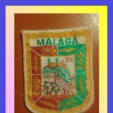 Militaria: PARCHE ESCUDO BORDADO. MALAGA. Lote 58954970