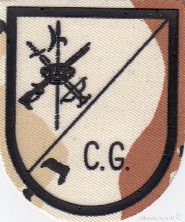 PARCHE EMBLEMA MILITAR EJERCITO LEGION LEGIONARIO CG AAA (Militar - Parches de tela )