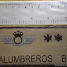 Militaria: PARCHE EMBLEMA MILITAR EJERCITO AIRE PILOTO ALUMBREROS AAA. Lote 59919027