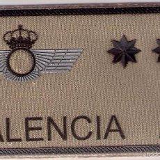 Militaria: PARCHE EMBLEMA MILITAR EJERCITO AIRE PILOTO PALENCIA CON VELCRO DETRAS AAA. Lote 59920079