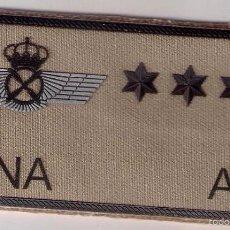 Militaria: PARCHE EMBLEMA MILITAR EJERCITO AIRE PILOTO LUNA CON VELCRO DETRAS AAA. Lote 59920547