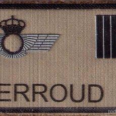 Militaria: PARCHE EMBLEMA MILITAR EJERCITO AIRE PILOTO DJERROUD CON VELCRO DETRAS AAA. Lote 59920631