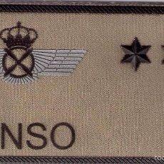 Militaria: PARCHE EMBLEMA MILITAR EJERCITO AIRE PILOTO CASTILLO CON VELCRO DETRAS AAA. Lote 59921207