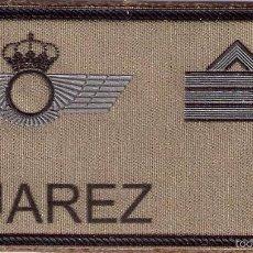Militaria: PARCHE EMBLEMA MILITAR EJERCITO AIRE PILOTO SUAREZ CON VELCRO DETRAS AAA. Lote 59921611