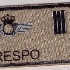 Militaria: PARCHE EMBLEMA MILITAR EJERCITO AIRE PILOTO CRESPO CON VELCRO DETRAS AAA. Lote 59921983